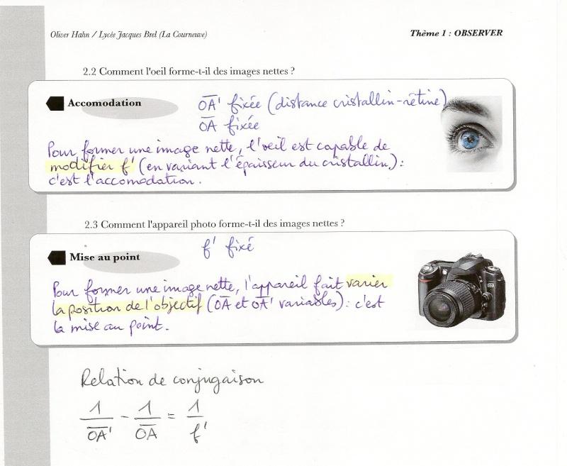 Chapitre 1 : Vision et images  Numari51