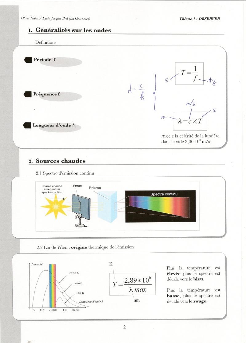 Chapitre 3 : Les sources de lumière Numari57