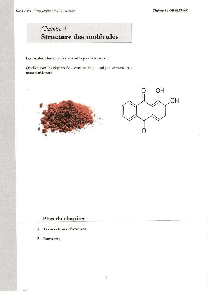 Chapitre 12 :Structure des molécules Numari60