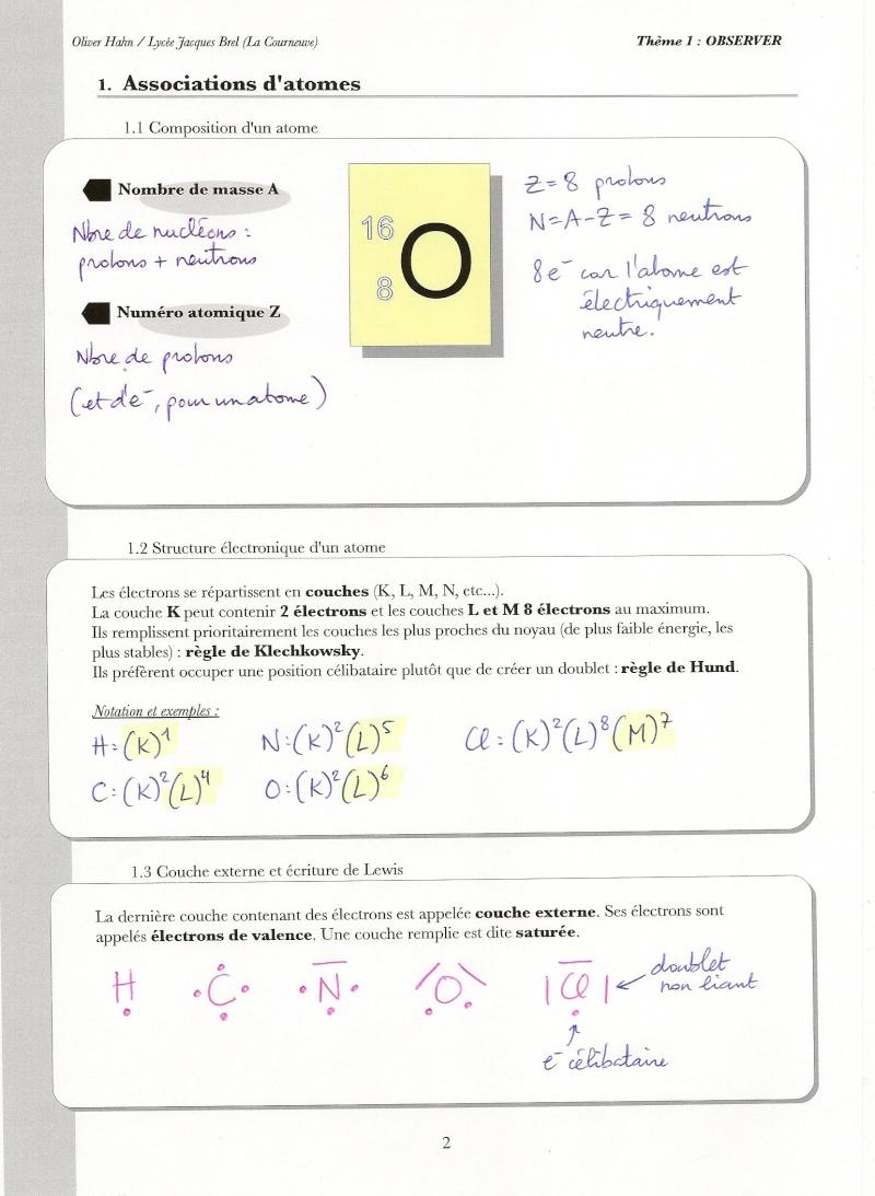 Chapitre 12 :Structure des molécules Numari61