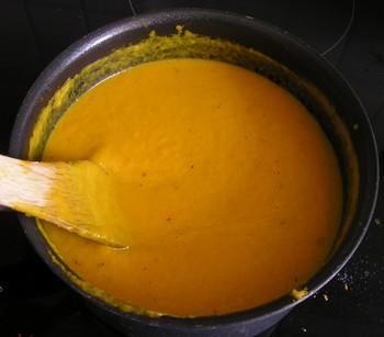 Crème de carottes au thym P7280015
