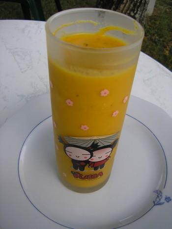 Crème de carottes au thym P7280016