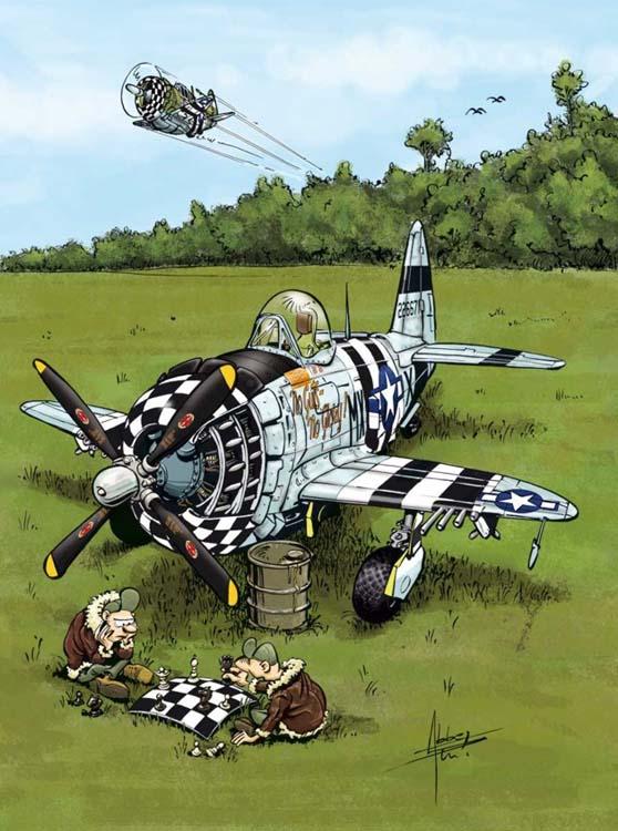 Le temps des hélices P-47-410