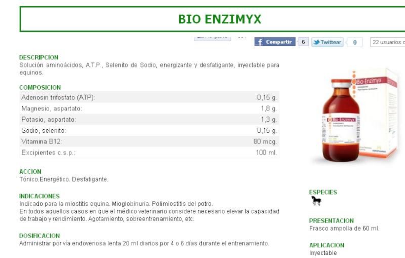 Bio enzymix --- $ 15.000.- Remedi10