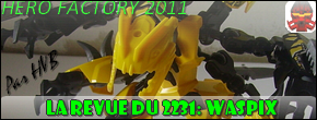 [Revue] Hero Factory 2231 : Waspix News_w11