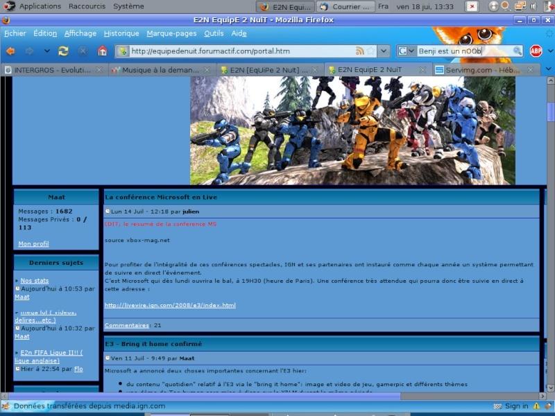 "Modification de ""l'interface"" Portai10"