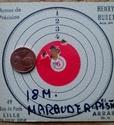 Benjamin Marauder pistol en mode pistolet 19 joules  210