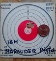 Benjamin Marauder pistol en mode pistolet 19 joules  510