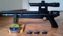 Benjamin Marauder pistol en mode pistolet 19 joules  Mar_lu10