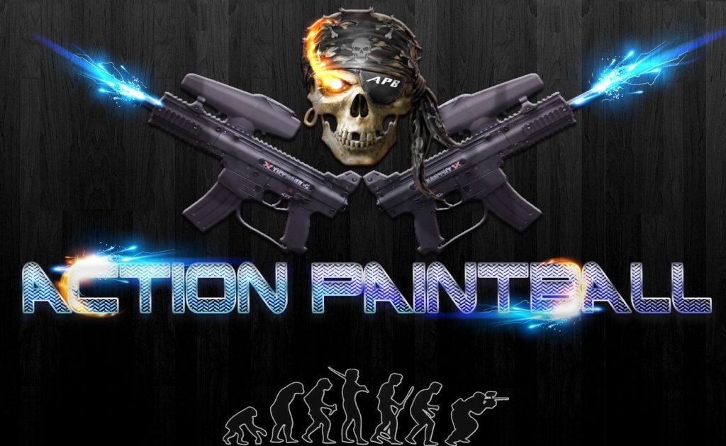 association de paintball - Portail Logo_p13
