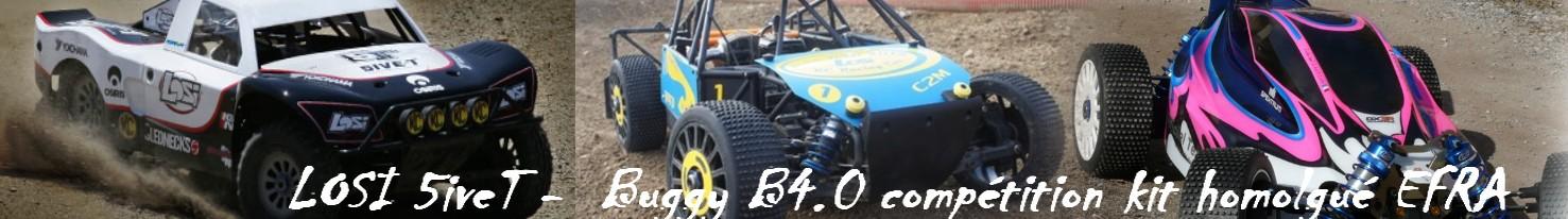 Passion4x4rc . Forum LOSI 5iveT et Buggy B4.0 France