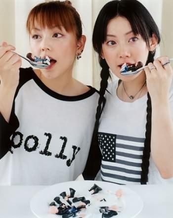 Avril në Tokio bashkë me Otsuka dhe Puffy 310