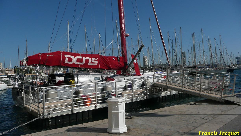 [Marine à voile] Le voilier monocoque de la DCNS à Toulon 0225
