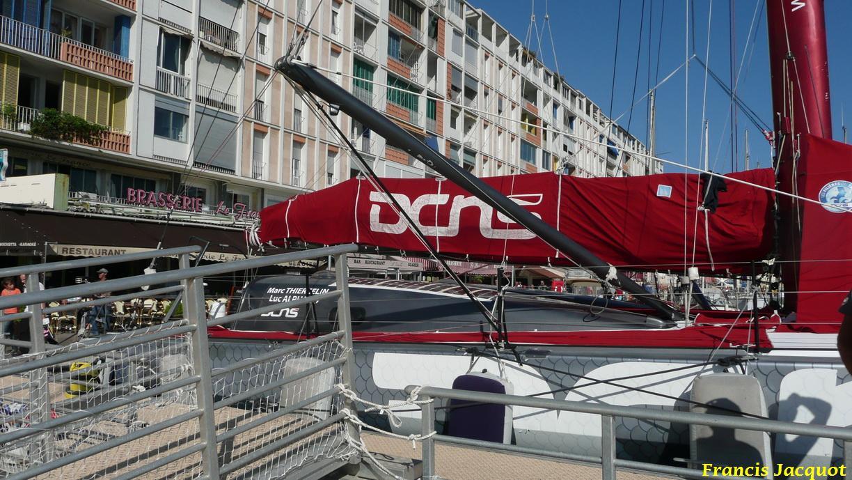 [Marine à voile] Le voilier monocoque de la DCNS à Toulon 0322