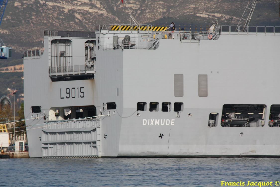 [LES PORTS MILITAIRES DE MÉTROPOLE] Mouvements de Bâtiments dans la rade de Toulon 0342