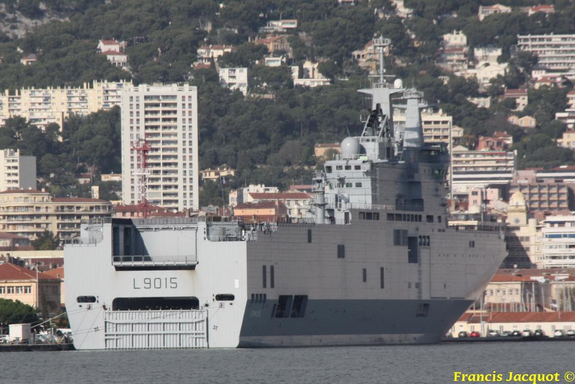 [LES PORTS MILITAIRES DE MÉTROPOLE] Mouvements de Bâtiments dans la rade de Toulon 0441