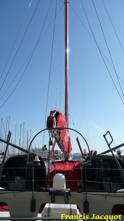 [Marine à voile] Le voilier monocoque de la DCNS à Toulon 0621