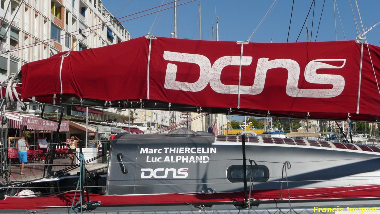 [Marine à voile] Le voilier monocoque de la DCNS à Toulon 0820