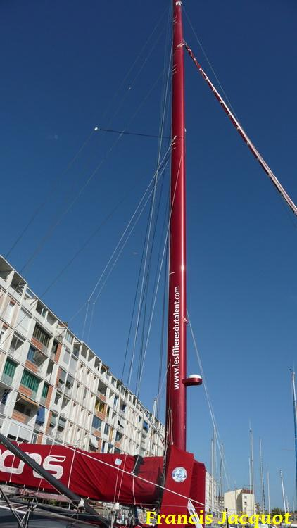 [Marine à voile] Le voilier monocoque de la DCNS à Toulon 1120