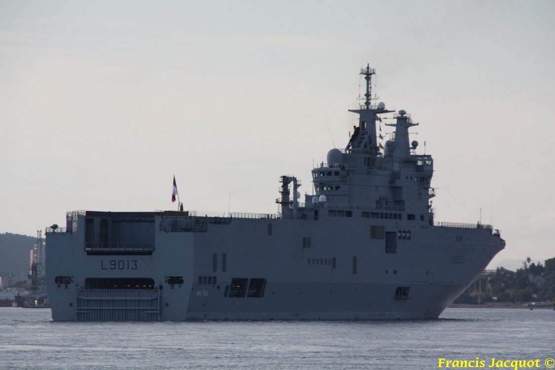 [LES PORTS MILITAIRES DE MÉTROPOLE] Mouvements de Bâtiments dans la rade de Toulon 1135