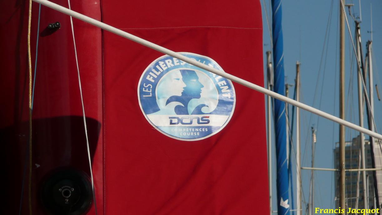[Marine à voile] Le voilier monocoque de la DCNS à Toulon 1220