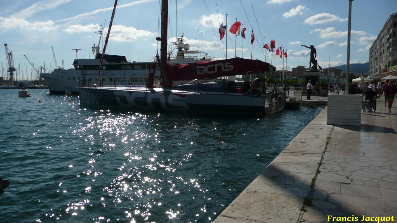 [Marine à voile] Le voilier monocoque de la DCNS à Toulon 1319