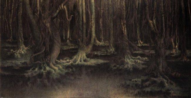 William Degouve de Nuncques [Peintre] Degouv13