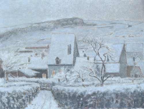 William Degouve de Nuncques [Peintre] Soirs-10