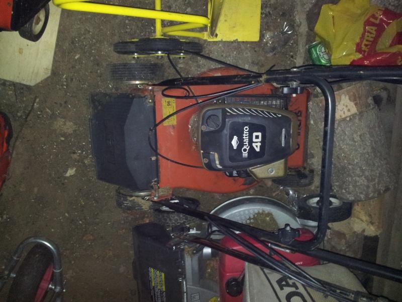 Mower boat engine 20111111