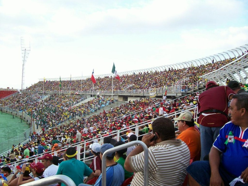 Puerto la Cruz | Estadio José Antonio Anzoátegui | 36.000 1011