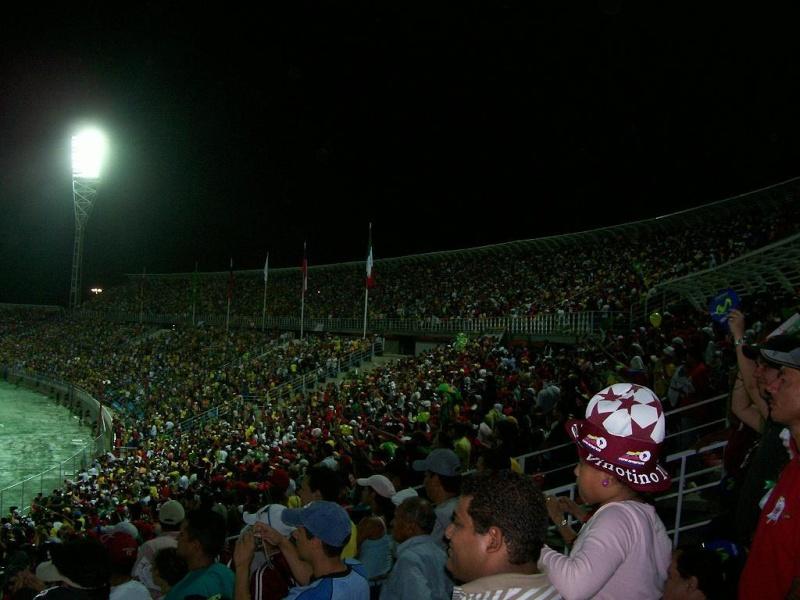 Puerto la Cruz | Estadio José Antonio Anzoátegui | 36.000 112