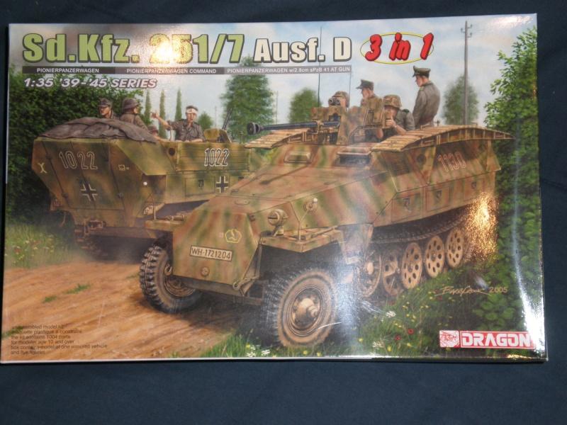 Sdkfz 251/7 ausf D de chez Dragon 110