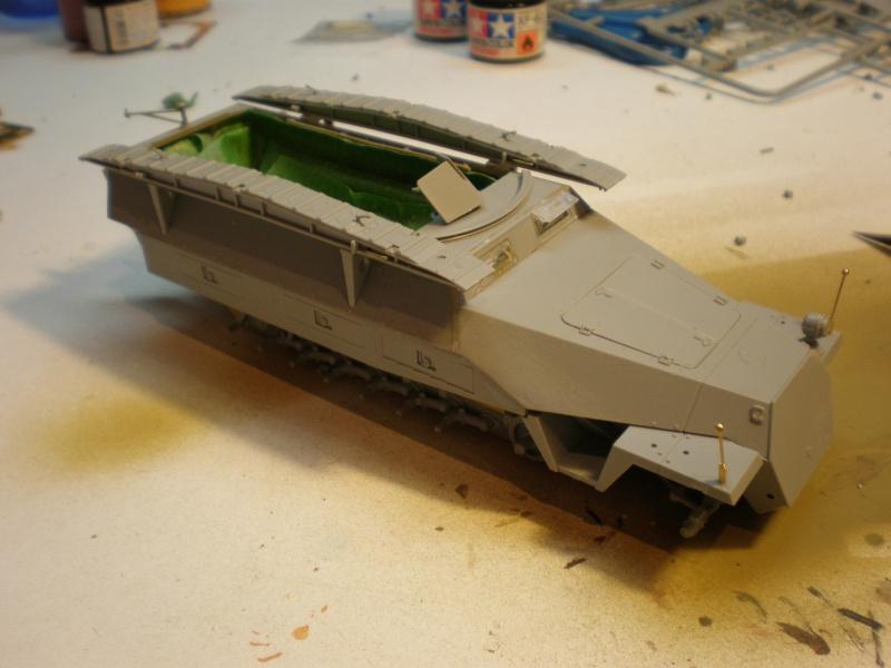 Sdkfz 251/7 ausf D de chez Dragon 1610