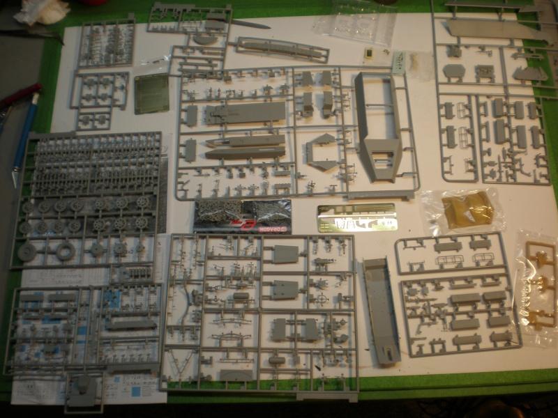 Sdkfz 251/7 ausf D de chez Dragon 210