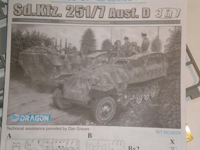 Sdkfz 251/7 ausf D de chez Dragon 310