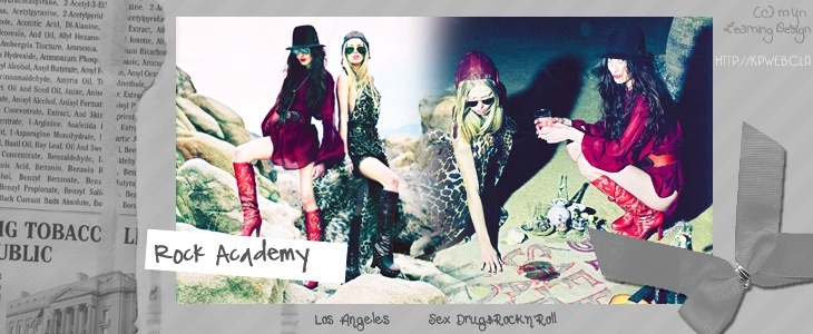Rock Academy. Sex , drugs and Rock'n'roll.