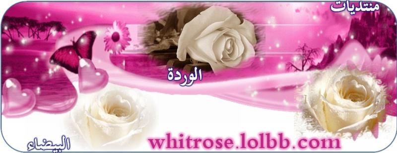 منتديات الورده البيضاء