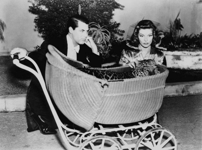 Bringing up baby, d'Howard Hawks (1938). Annex212