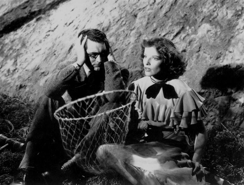 Bringing up baby, d'Howard Hawks (1938). Annex214