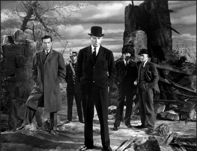 Espions sur la Tamise, de Fritz Lang (1943). Espion10