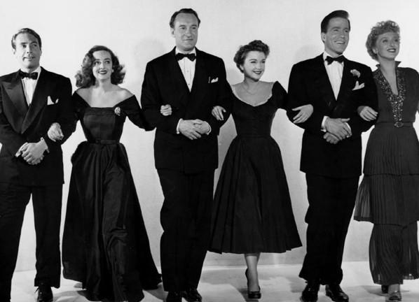 La mode dans le cinéma des années fifties.  Eve10