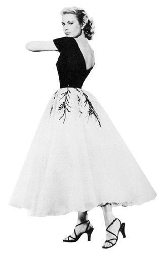 La mode dans le cinéma des années fifties.  Rw210