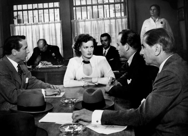 Romans et films noirs : Dashiell Hammett, Raymond Chandler... et les autres.  Woman-10