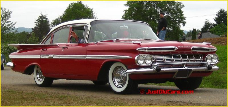 chevrolet Impala 1959-1960  Chevro11