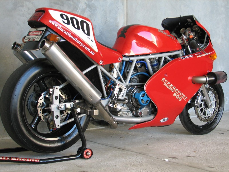 DUCATI 900SS A COURROIES DRAGSTER TURBO 215CV Img_0511
