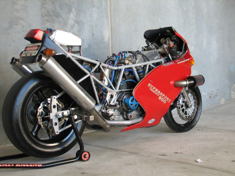 DUCATI 900SS A COURROIES DRAGSTER TURBO 215CV Img_0512