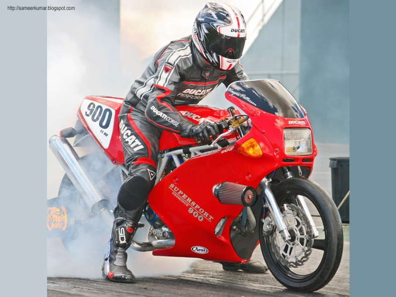 DUCATI 900SS A COURROIES DRAGSTER TURBO 215CV Patto_10