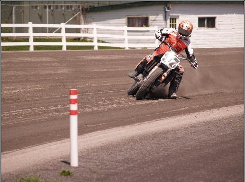KTM EN CHAPIONNAT DE FLAT TRACK AUX US ! Pictur91