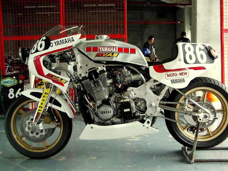 XS RACER PISTE VELU Yamaha12