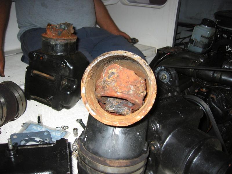 Non è il termostato nè la girante in entrambi i motori ! Foto e prime ... preoccupazioni Img_1410